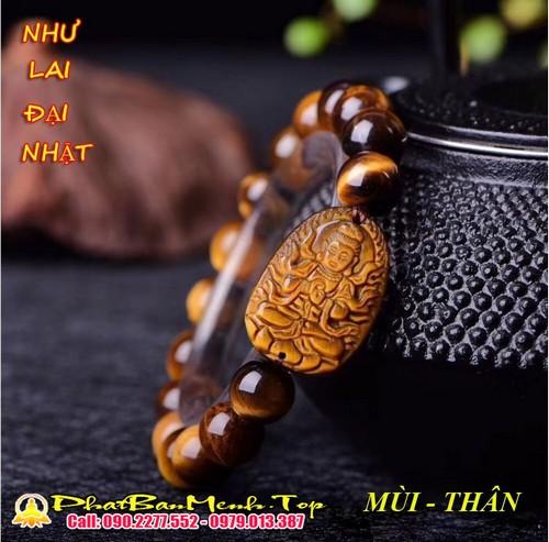 Vòng Tay Phật Bản Má»nh Tuá»i Äinh Mùi Äá Thạch Anh Mắt Há»
