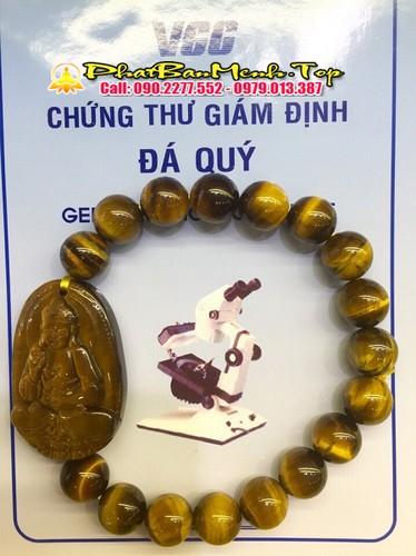 Vòng Tay Phật Bản Má»nh Tuá»i Mùi, Tuá»i Thân Äá Mắt Há» Vàng